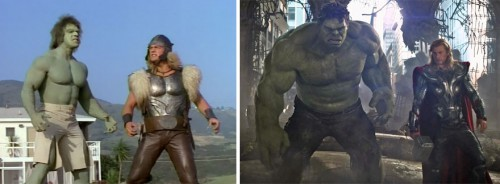 11 hulk and thor 1988 and 2012