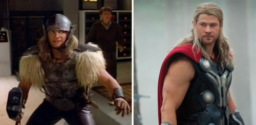 5 thor 1978 and 2015