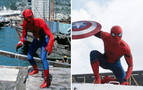 8 spiderman 1977 and 2016