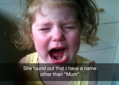 have a name other than mum